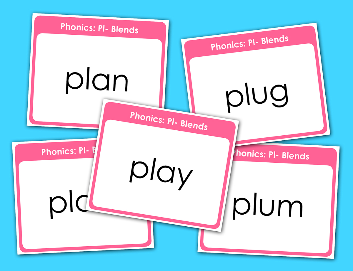 Spelling Flashcards Activity
