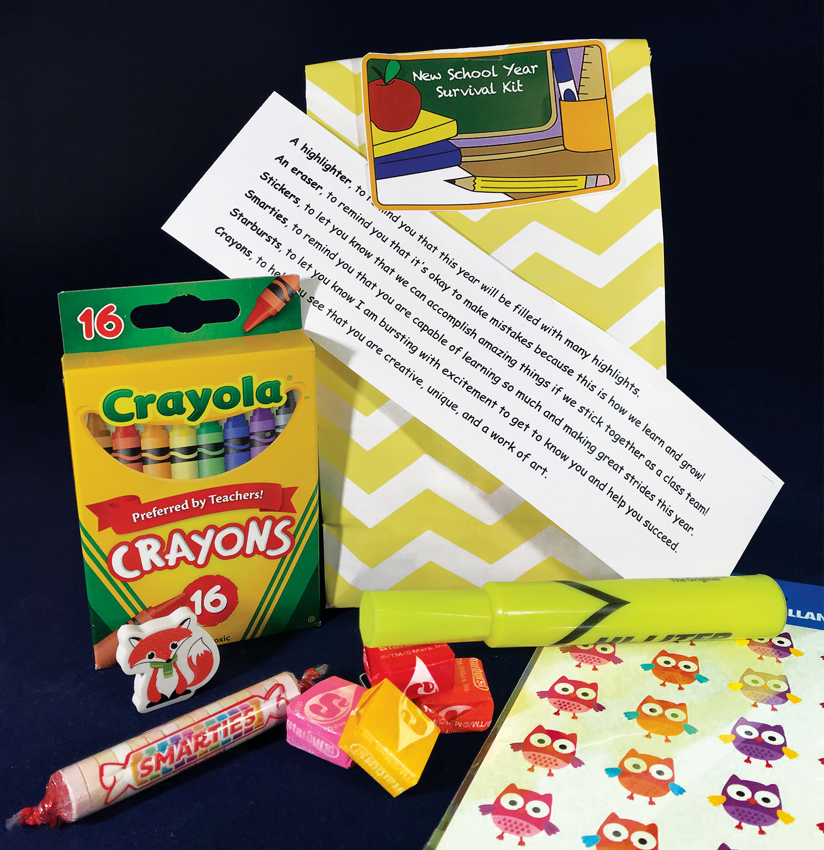 Welcome Back to School Treat Bags