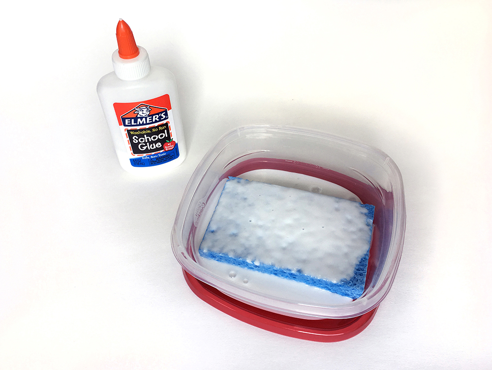 DIY Glue Sponges